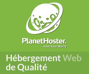 Bannière de l'hébergeur PlanetHoster