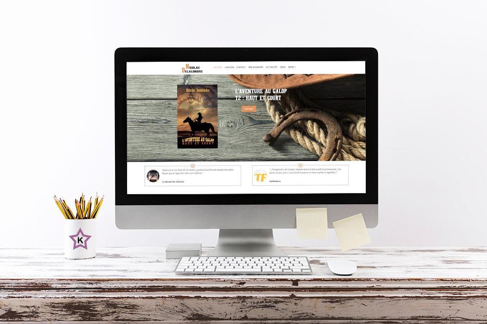 Kaellyana Creation Site Internet WordPress Nicolas Delalondre