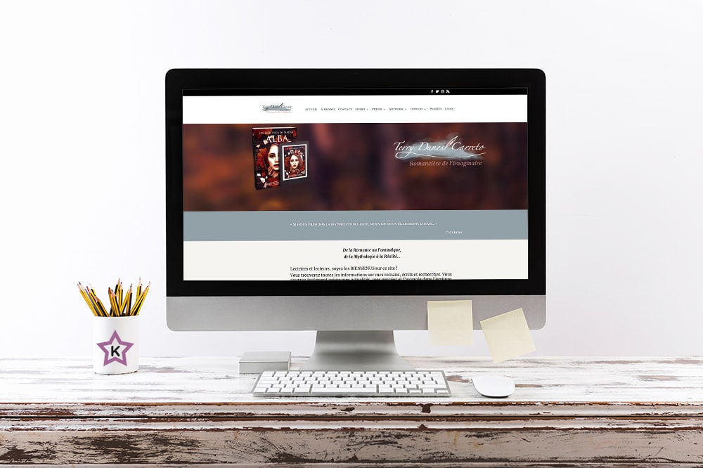 Kaellyana Creation Site Internet WordPress Terry Dunes Carreto
